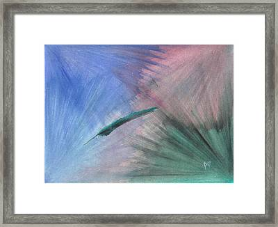 Finding Balance Framed Print by Robert Meszaros