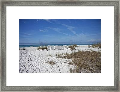 Finding Happiness Framed Print by Betsy Knapp
