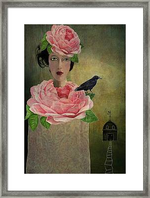 Finding Her Way Framed Print by Lisa Noneman