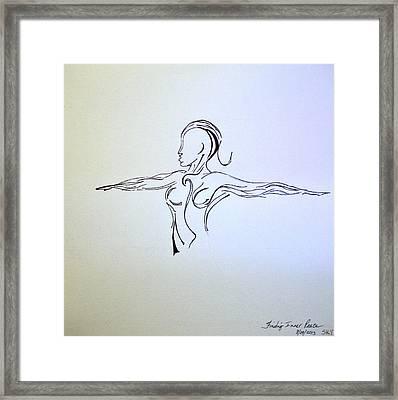 Finding Inner Peace #1  Framed Print
