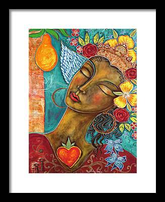 Mango Framed Prints