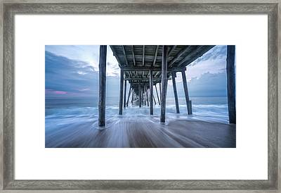 Framed Print featuring the photograph Finding Peace by Bernard Chen