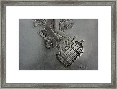 Finding Peace Framed Print by Hari Lualhati