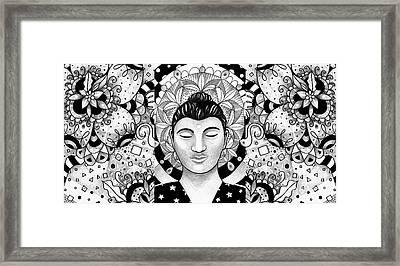 Finding Peace Framed Print