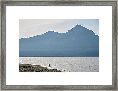 Finding Perspective Framed Print
