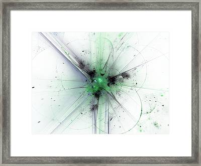 Finding Reason Framed Print