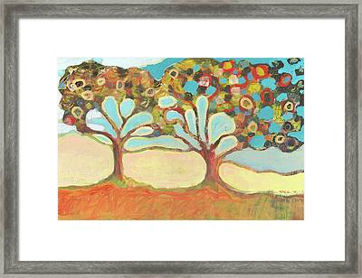 Finding Strength Together Framed Print