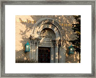 Finding The Light Framed Print