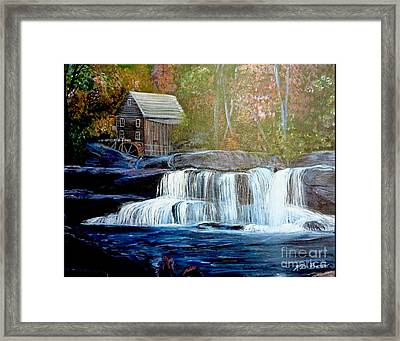Finding The Living Waters Original Framed Print