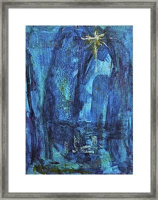 Finding The Star Framed Print