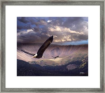 Finding Tranquility Framed Print