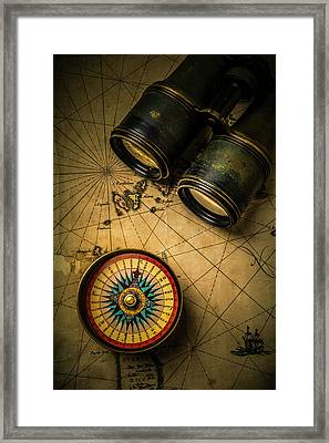 Finding Your Way Framed Print by Garry Gay