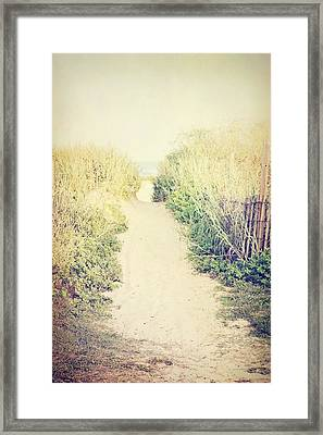 Framed Print featuring the photograph Finding Your Way by Trish Mistric