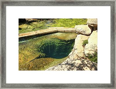 Fine Art America Pic 119 Jacobs Well Framed Print by Darrell Taylor