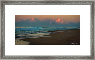 Fine Art America Pic 126 Kauai Sunrise Framed Print by Darrell Taylor