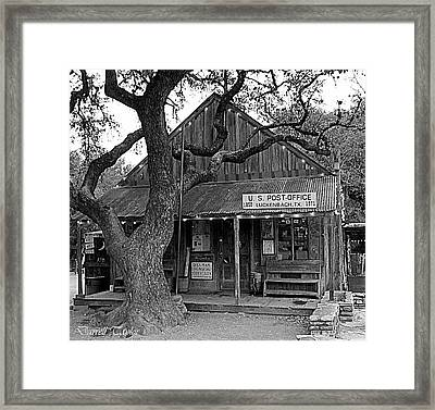 Fine Art America Pic 131 Luckenback Black And White Framed Print by Darrell Taylor