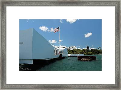 Fine Art America Pic 132 Pearl Harbor Framed Print by Darrell Taylor