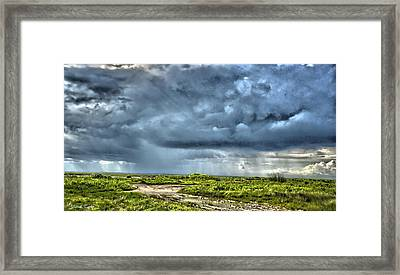 Fine Art America Pic 151 Storm In Sargent Framed Print by Darrell Taylor