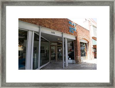 Fine Art America Santa Monica California Dsc3641 Framed Print by Wingsdomain Art and Photography