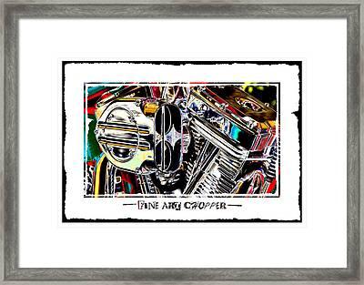 Fine Art Chopper II Framed Print by Mike McGlothlen