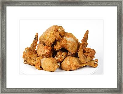 Fine Art Fried Chicken Food Photography Framed Print by James BO  Insogna