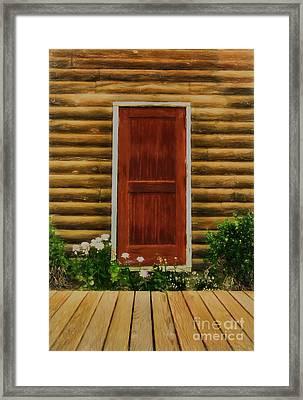 Fine Art In Skagway 2 Framed Print