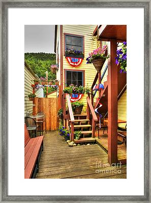 Fine Art In Skagway 3 Framed Print