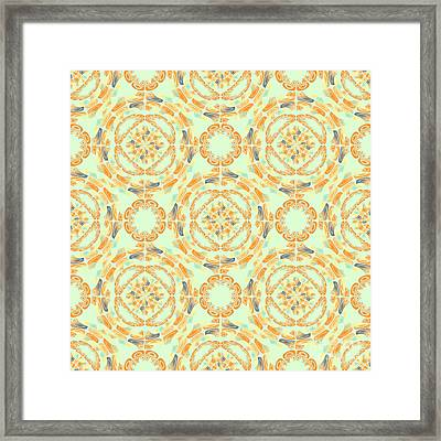 Fine Art Pattern Framed Print by Gaspar Avila
