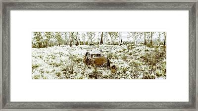 Fine Art Tasmania Bushland Framed Print