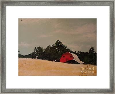 Fine August Day Framed Print by Carla Dabney