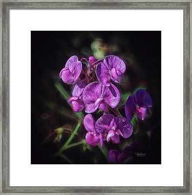 Fine Flower Arrangement Framed Print