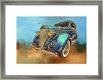 Fine Ride Framed Print