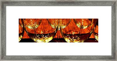 Fine Wine And Dine 1 Framed Print by Will Borden