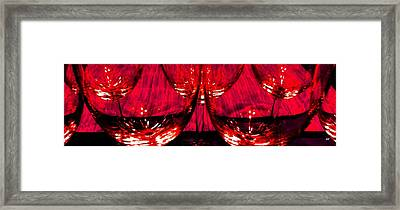 Fine Wine And Dine 6 Framed Print by Will Borden