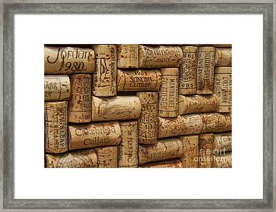 Fine Wine Framed Print by Anthony Jones