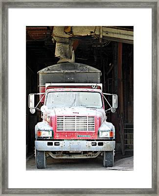 Finely Dusted 2 Framed Print by Cyryn Fyrcyd