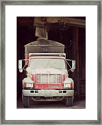 Finely Dusted Framed Print by Cyryn Fyrcyd