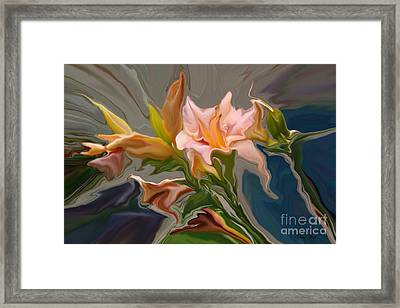 Finery Framed Print by Corey Ford