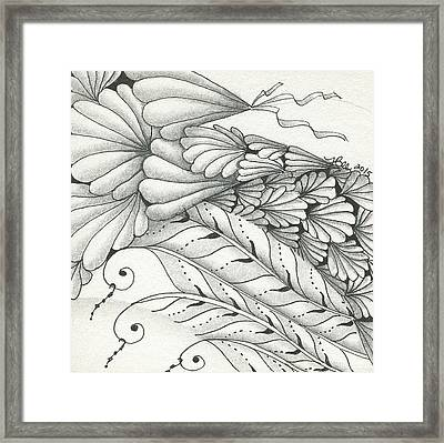 Finery Framed Print