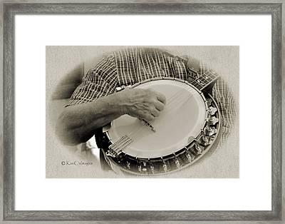 Finger Pickin Good 11 Framed Print