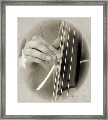 Finger Pickin' Good 3 Framed Print by Kae Cheatham