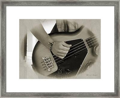 Finger Pickin' Good 9 Framed Print by Kae Cheatham
