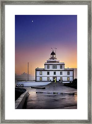 Finisterre Lighthouse Framed Print
