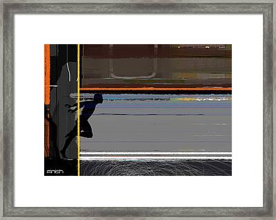 Finish 2 Framed Print