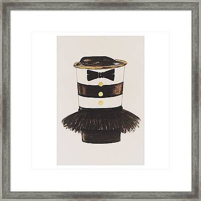 My #aliceandoliva #starbucks Painting Framed Print by Kathryn  Prantl