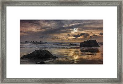 Finishing The Day IIi Framed Print