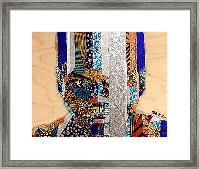 Finn Star Wars Awakens Afrofuturist  Framed Print