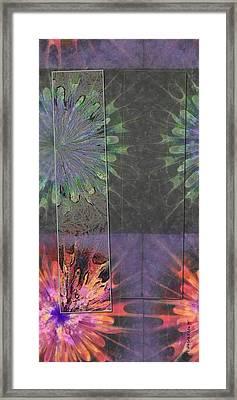 Finnier Truth Flowers  Id 16165-202841-14261 Framed Print