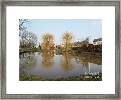 Finningley Pond Framed Print