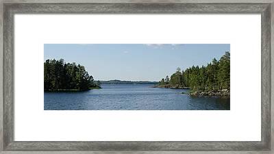 Finnish Lake Framed Print